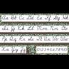 TCR8474 Eucalyptus Cursive Mini Bulletin Board