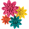 TCR8545 Beautiful Brights Paper Flowers