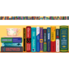 TCRA020 Bookshelf of the Classics Chalkboard Topper