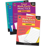 Timed Math Facts Practice Set (4)