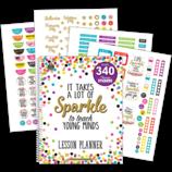 Confetti Lesson Planner with stickers