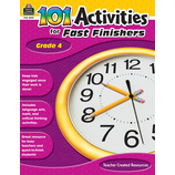 101 Activities For Fast Finishers Grade 4