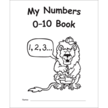 My Own Books: My Numbers 0–10 Book