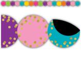 Confetti Circles Die-Cut Magnetic Border