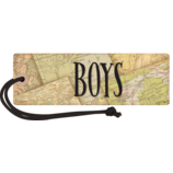 Travel the Map Magnetic Boys Pass