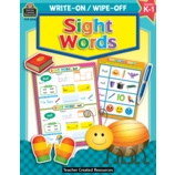 Sight Words Write-On Wipe-Off Book