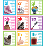 Colorful Photo Cards Digraphs and Blends Bulletin Board
