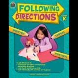 Following Directions Grade K