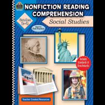 TCR8023 Nonfiction Reading Comprehension: Social Studies, Grades 2-3