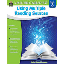 TCR8061 Mastering Complex Text Using Multiple Reading Sources Grade 3