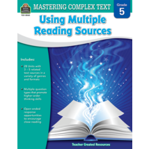 TCR8063 Mastering Complex Text Using Multiple Reading Sources Grade 5