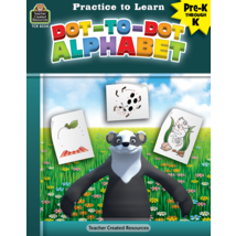 TCR8234 Practice to Learn: Dot-to-Dot Alphabet