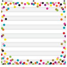Confetti 7 Pocket Chart