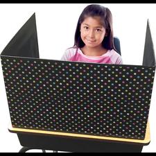 Chalkboard Brights Classroom Privacy Screen