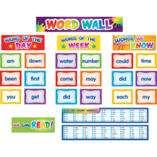 First 100 Sight Words Pocket Chart Cards Pre K-2