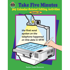 Take Five Minutes: 365 Calendar-Related Editing Activities