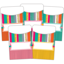 Tropical Punch Library Pockets - Multi-Pack