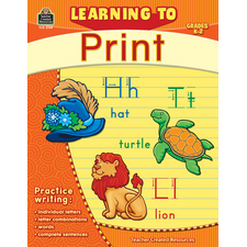 Learning to Print Grade K-2