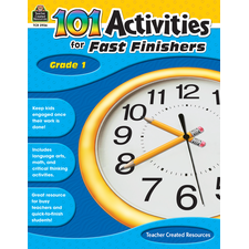 101 Activities For Fast Finishers Grade 1