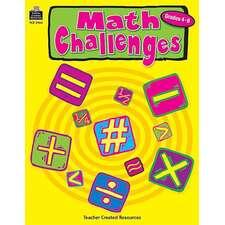 Math Challenges, Grades 4-6