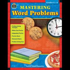 Mastering Word Problems Grades 4-6