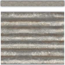 Corrugated Metal Straight Border Trim