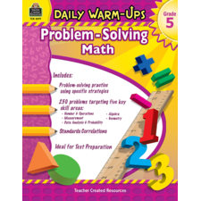 Daily Warm-Ups: Problem Solving Math Grade 5