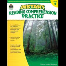Instant Reading Comprehension Practice Grade 4