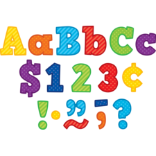 """Playful Patterns Bold Block 4"""" Letters Combo Pack"""