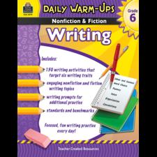 Daily Warm-Ups: Nonfiction & Fiction Writing Grade 6