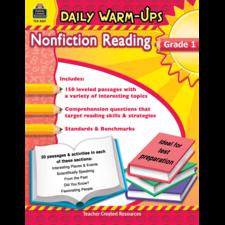 Daily Warm-Ups: Nonfiction Reading Grade 1