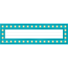Marquee Flat Name Plates