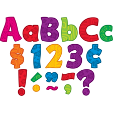"""Surfs Up Funtastic 4"""" Letters Combo Pack"""