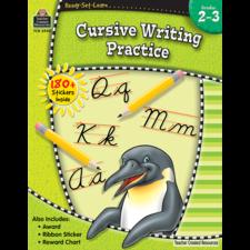Ready-Set-Learn: Cursive Writing Practice Grade 2-3
