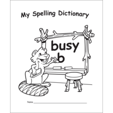 My Own Spelling Dictionary