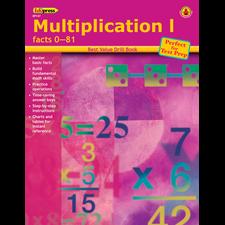 Best Value Drill Book Multiplication 1