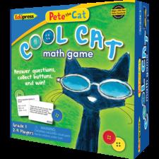 Pete the Cat Cool Cat Math Game Grade 1