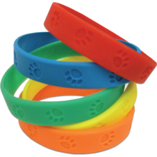 Paw Prints Wristbands