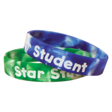 Fancy Star Student Wristbands
