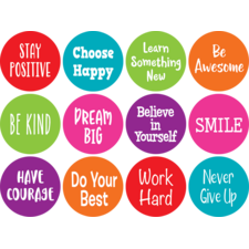 """Spot On Carpet Markers Positive Sayings - 4"""""""