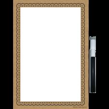 Clingy Thingies Burlap Small Note Sheet