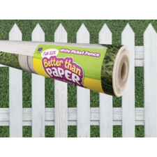 Fun Size White Picket Fence Better Than Paper Bulletin Board Roll