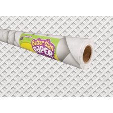White Trellis Better Than Paper Bulletin Board Roll