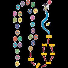 Pete the Cat Alphabet Balloons Sensory Path