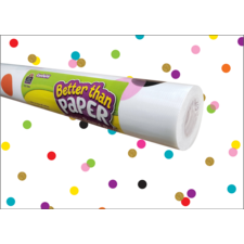 Confetti Better Than Paper Bulletin Board Roll