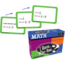 I Have, Who Has Math Game Grade 4-5