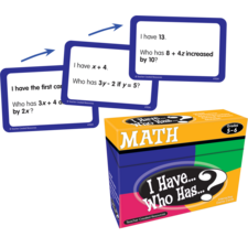 I Have, Who Has Math Game Grade 5-6