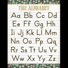Eucalyptus The Alphabet Chart