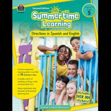 Summertime Learning Grade 5 - Spanish Directions