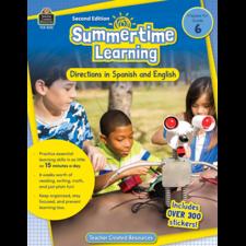 Summertime Learning Grade 6 - Spanish Directions